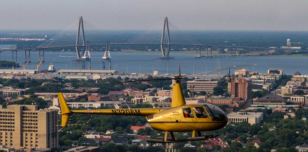 Tour Charleston By Air